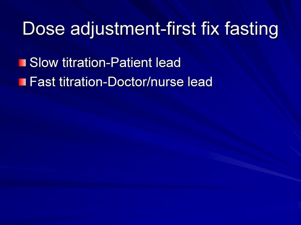 titration-patient lead