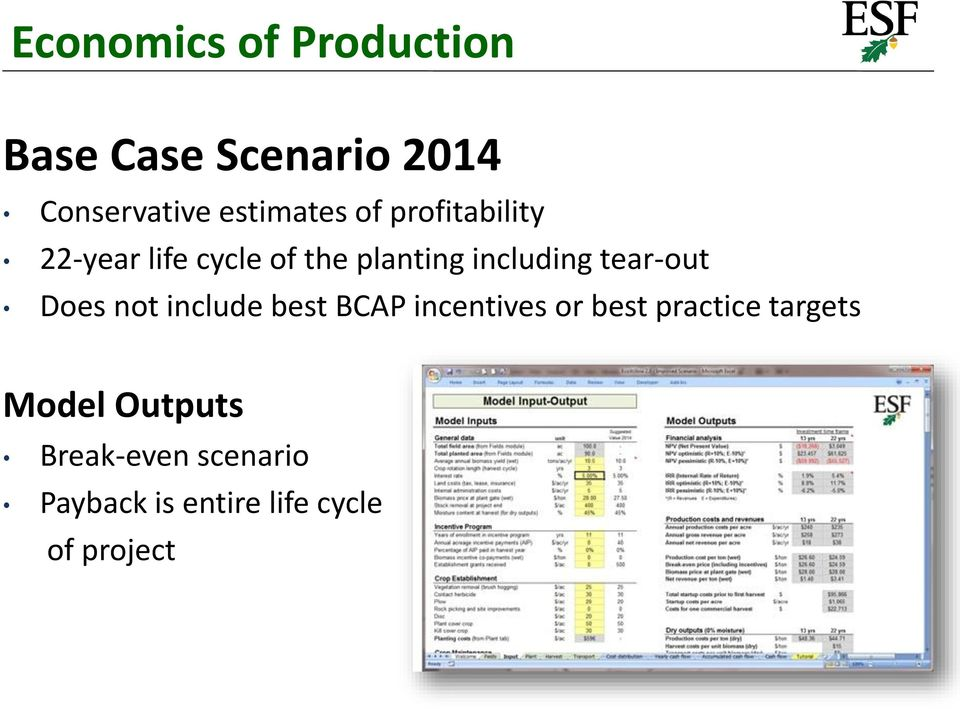 including tear-out Does not include best BCAP incentives or best