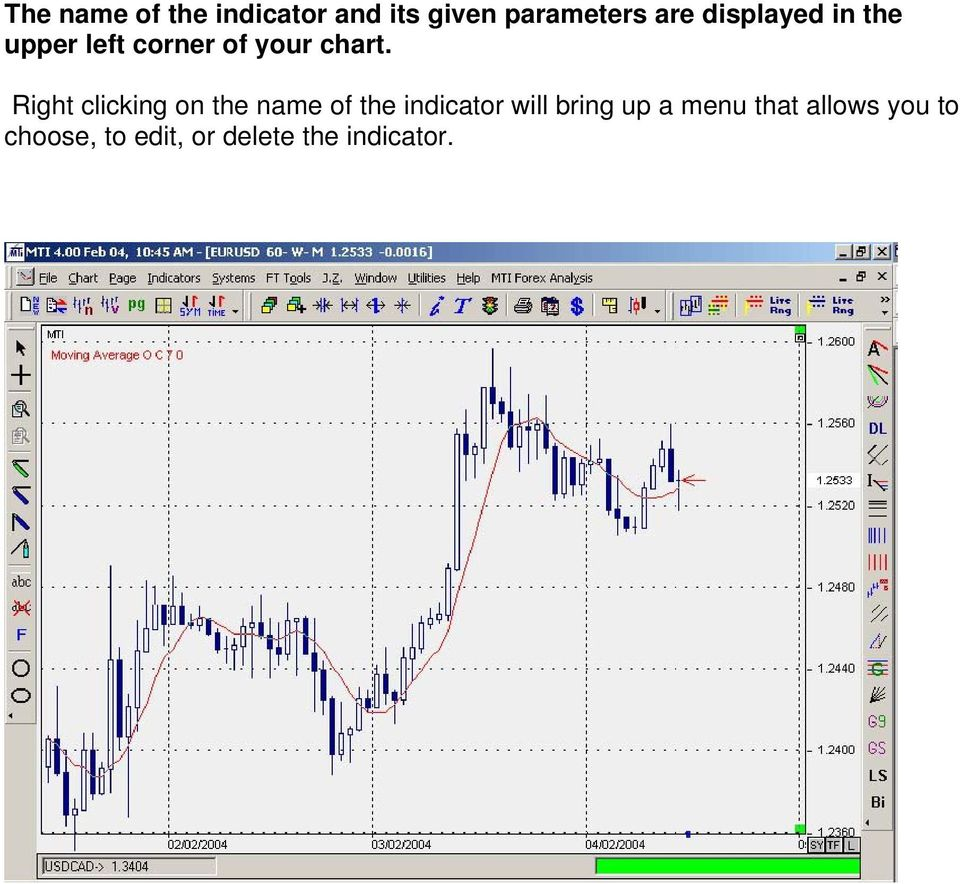 Start Up Manual For Mti 4 0 Technical Analysis Charting Pdf Free Download