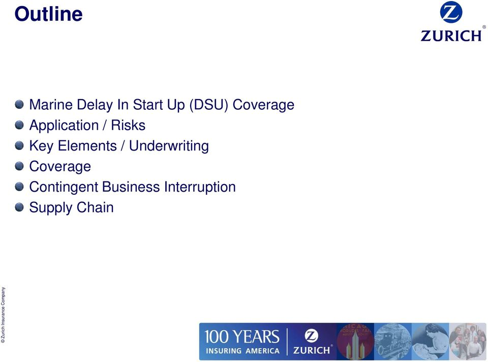 Key Elements / Underwriting Coverage