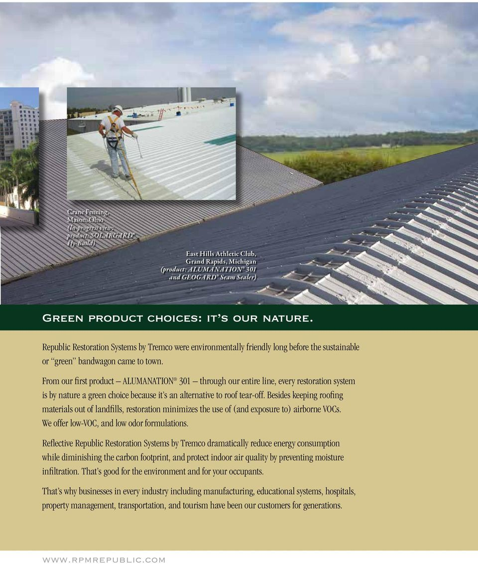 Sustainability Through Roof And Wall Restoration Solutions