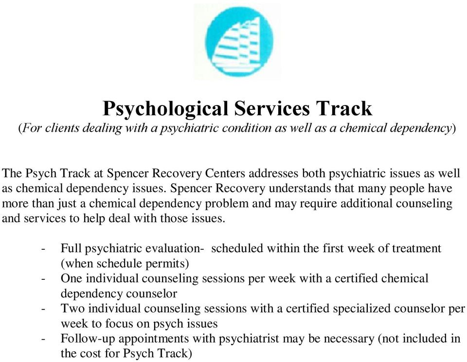 Spencer Recovery Centers Inc Laguna Beach Ca Jcaho Accredited Pdf