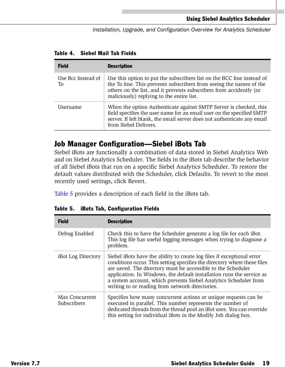 siebel analytics scheduler guide pdf rh docplayer net Database Management System Model Elementary School Oracle Information Systems for Construction