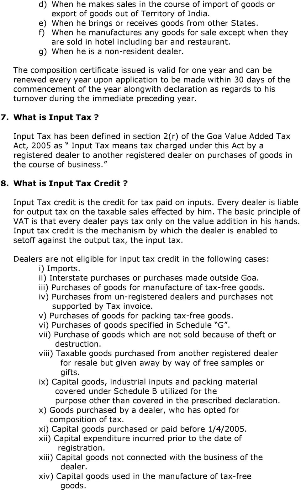 meaning of value added tax in india