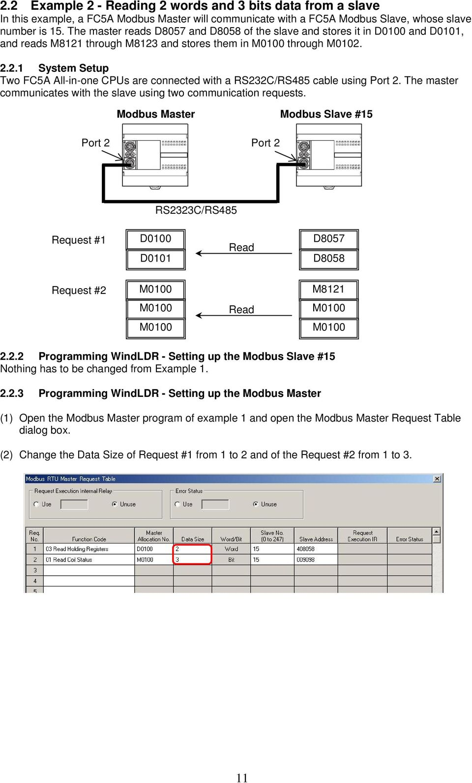 FC5A Modbus Communication Training - PDF