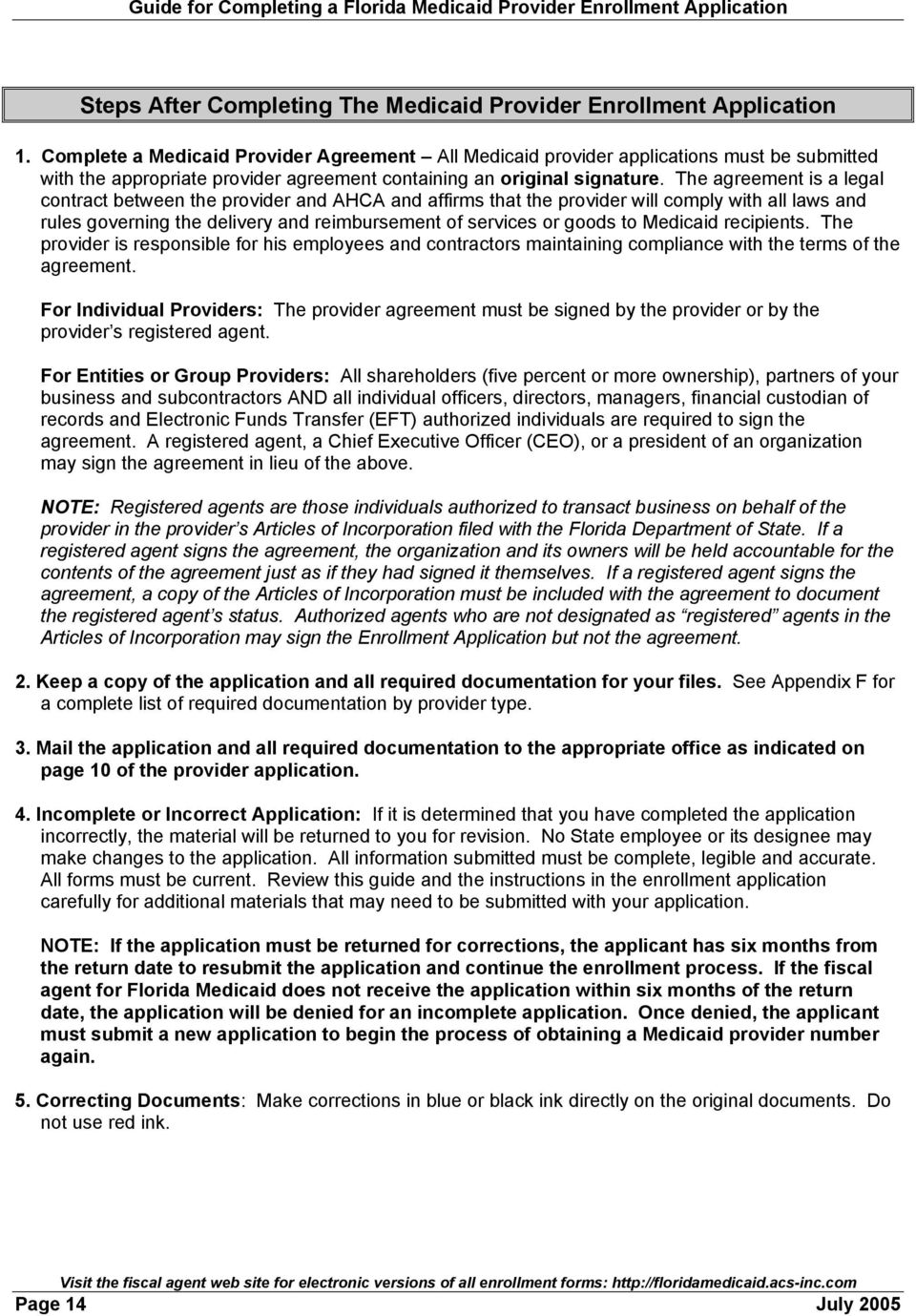 Guide For Completing A Medicaid Provider Enrollment Application Pdf