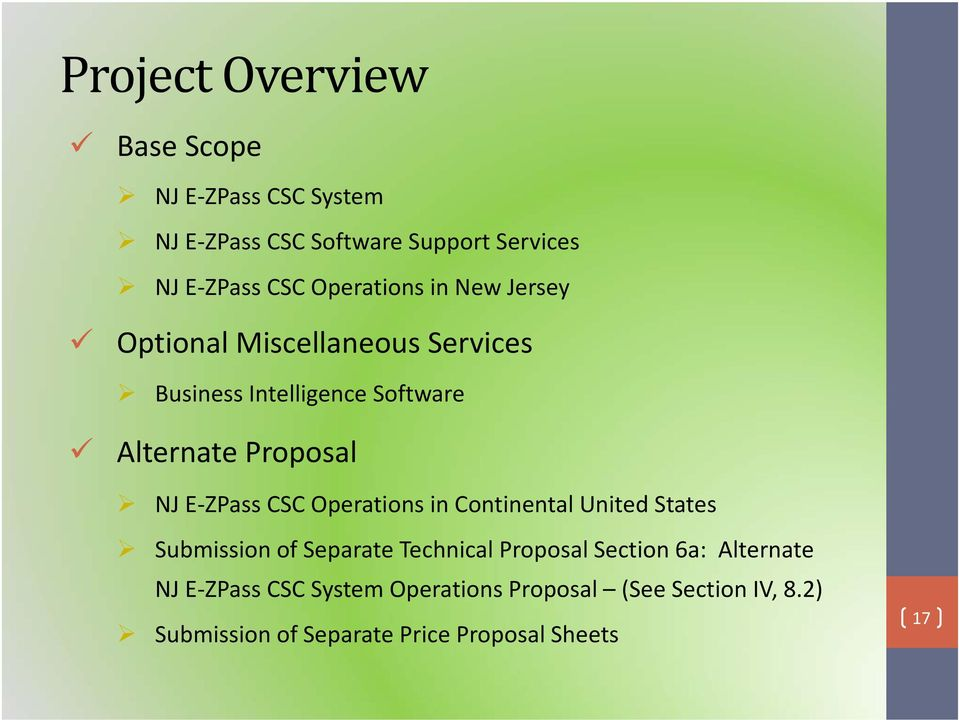 Request For Proposal Rm E Zpass Customer Service Center Pre Proposal