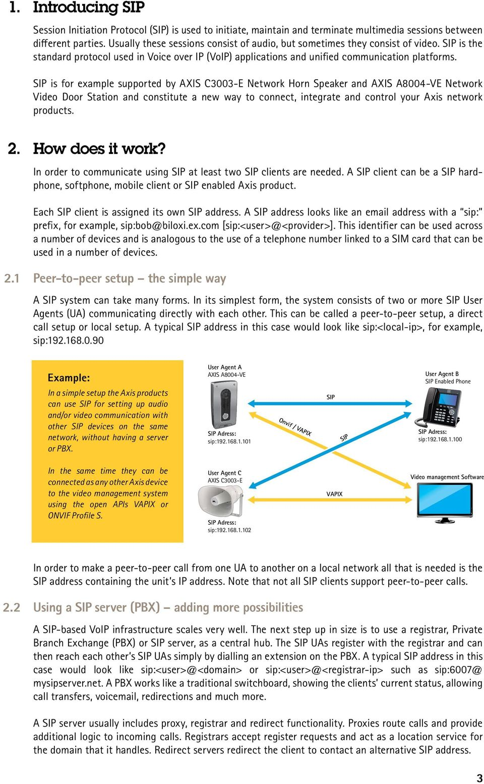White paper  SIP An introduction - PDF