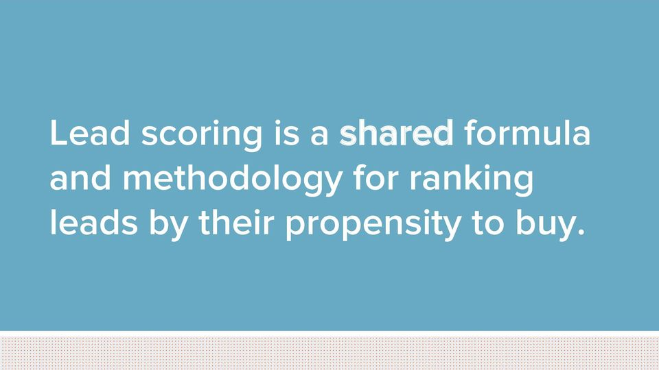 methodology for ranking