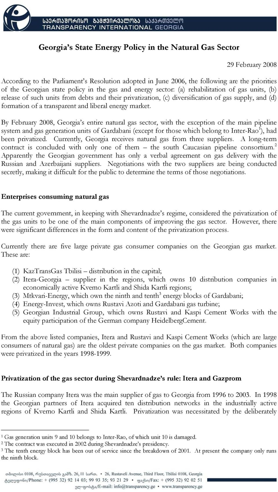 Gas Companies In Georgia >> Georgia S State Energy Policy In The Natural Gas Sector Pdf