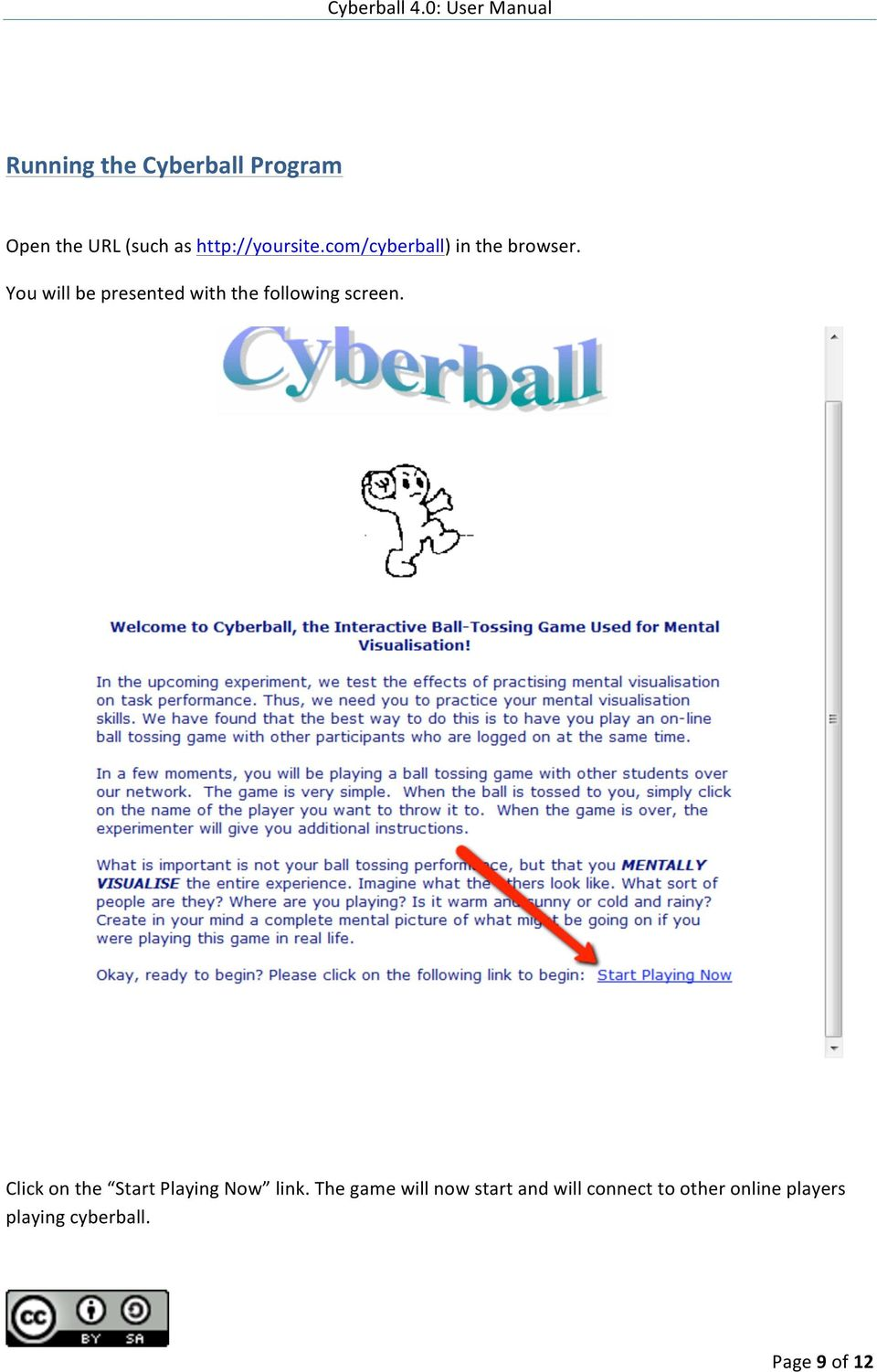 user manual for cyberball 4 0 beta pdf