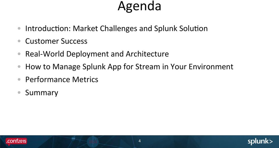 Stream Deployments in the Real World: Enhance Opera?onal