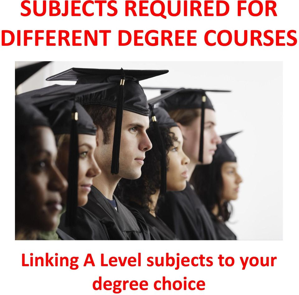 COURSES Linking A Level