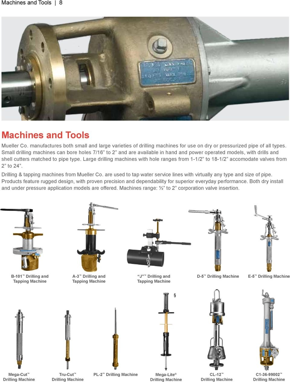 Water Distribution Products Full-line product offering - PDF