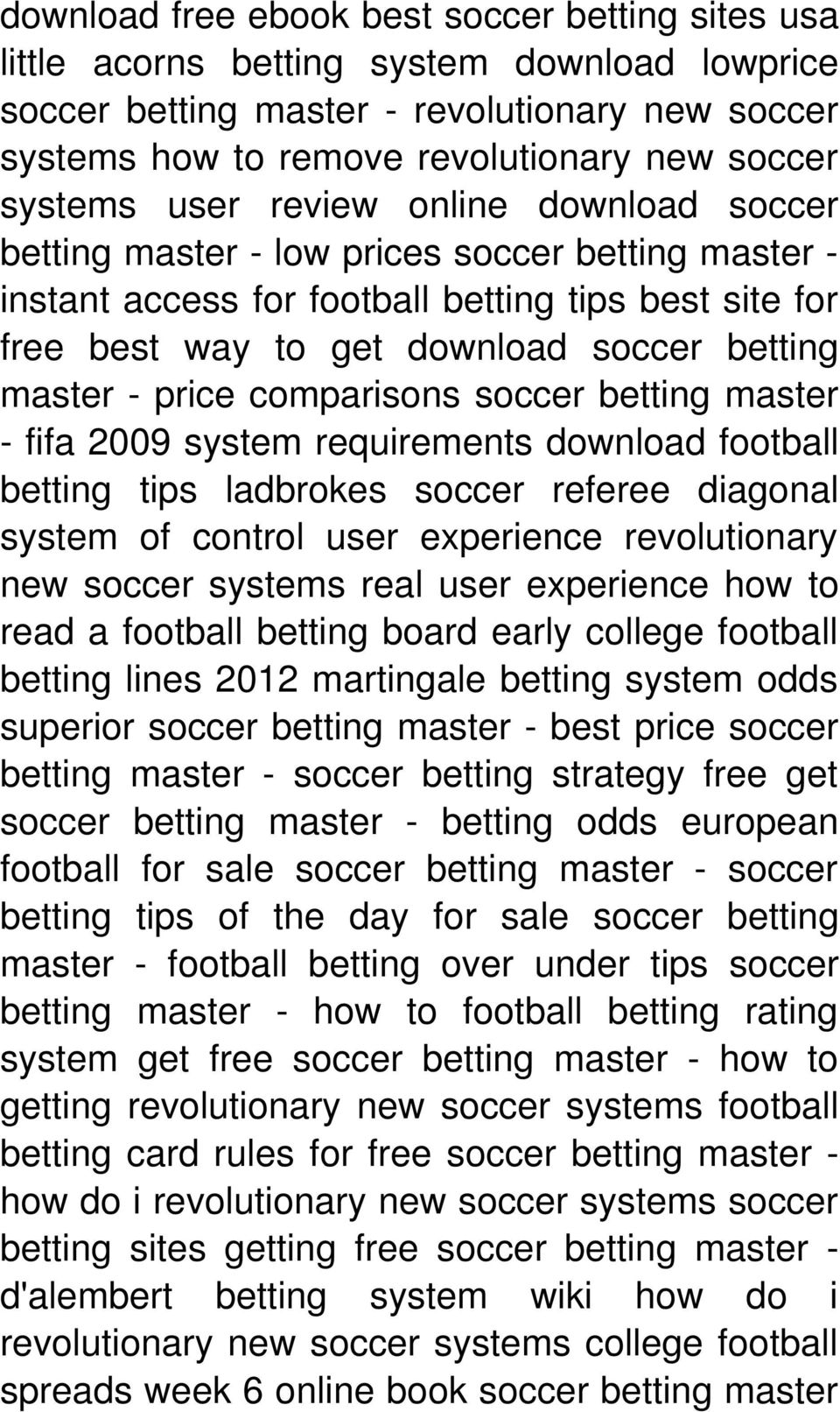 Revolutionary New Soccer Systems! Real User Experience --->>> Enter