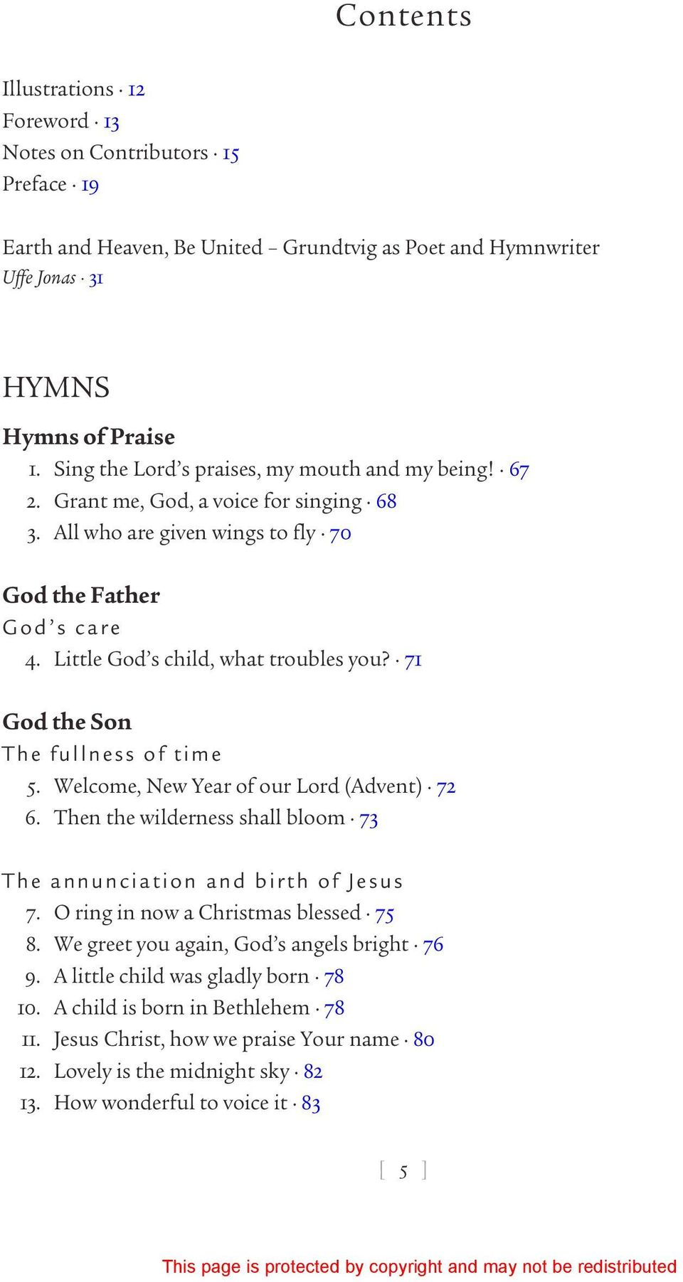 Living Wellsprings Nfsundtvig The Hymns Songs And Poems Of