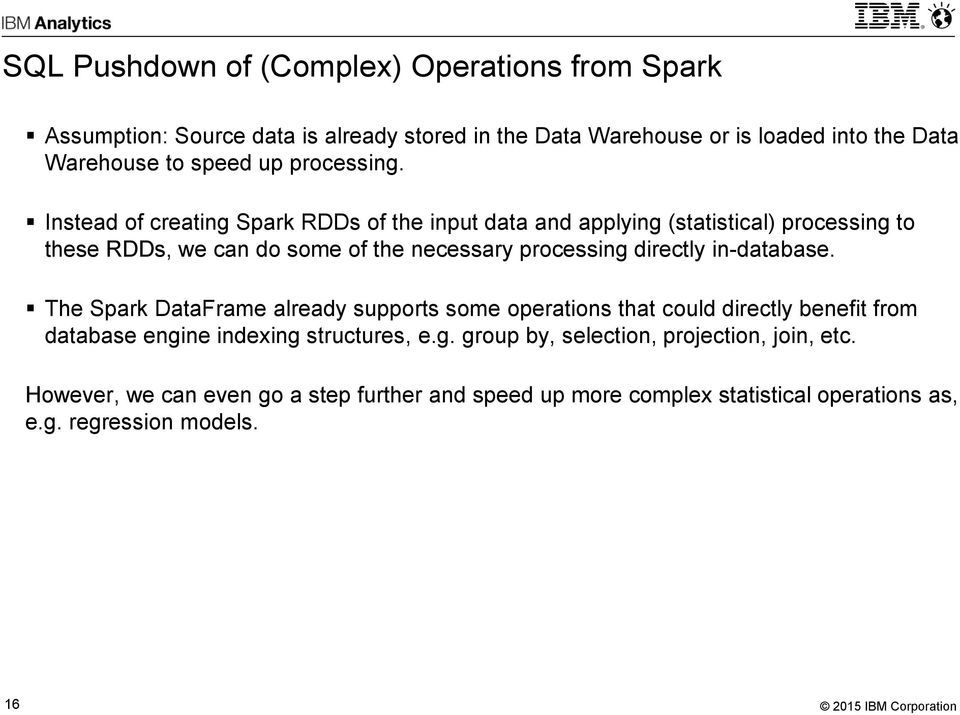 Integrating Apache Spark with an Enterprise Data Warehouse - PDF