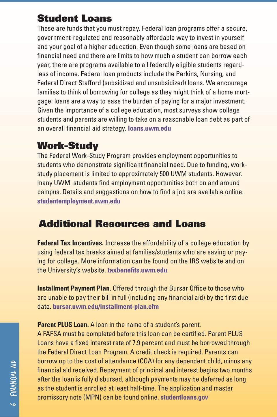Uwm Financial Aid >> Financial Aid Distribution At Uwm Types And Trends Pdf