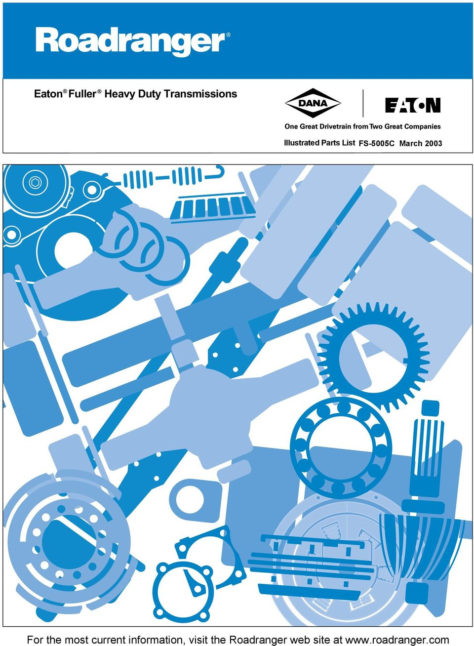 Eaton Fuller Heavy Duty Transmissions Illustrated Parts List