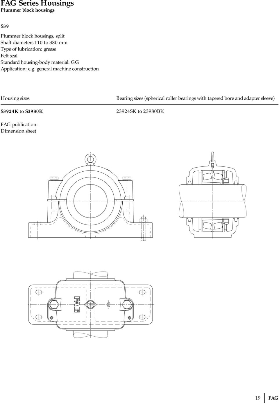 Technical Information Pdf Roll Bearing Energy Saving Ball Mill Diagram General Machine Construction S3924k To S3980k