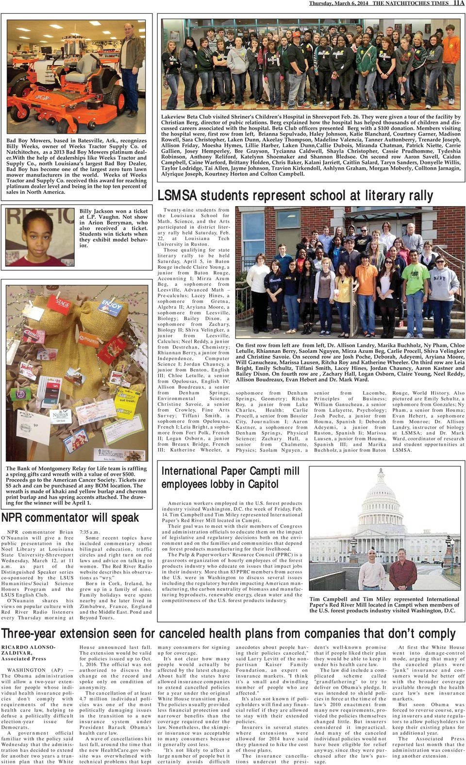 The Natchitoches Times - PDF