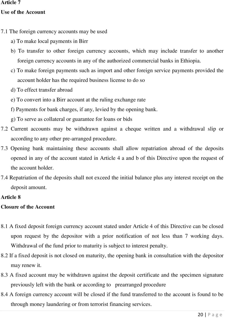 How to Open a Foreign Currency Account - PDF