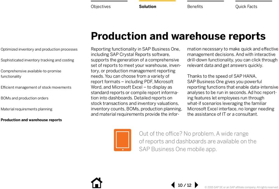 Warehouse and Production Management with SAP Business One - PDF