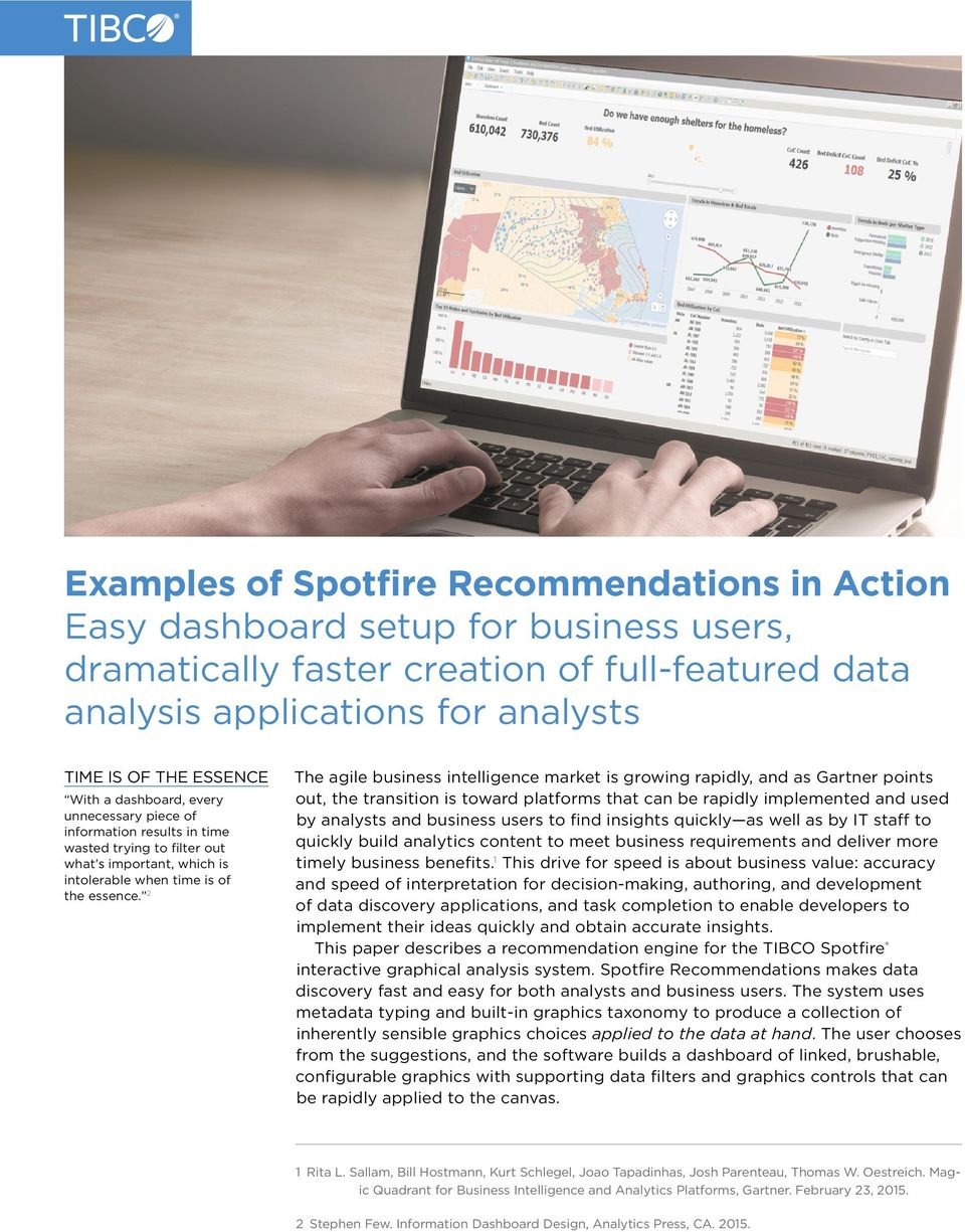 examples of spotfire recommendations in action pdf