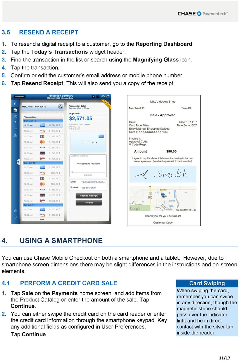 Chase Mobile Checkout Canada User Guide - PDF