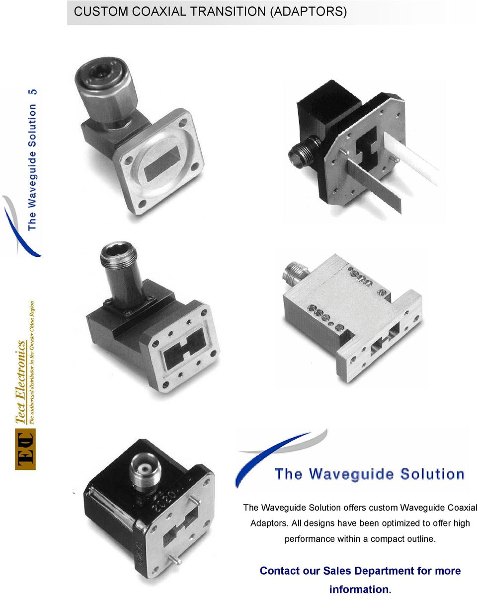 Waveguide Coaxial Transitions - PDF
