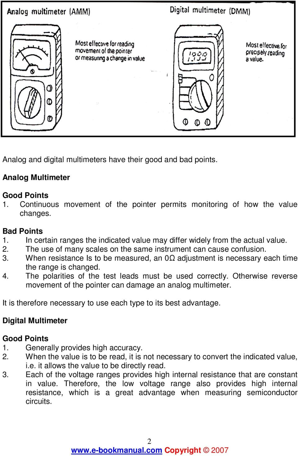 HOW TO USE MULTIMETER  COMPILE BY: Dzulautotech - PDF