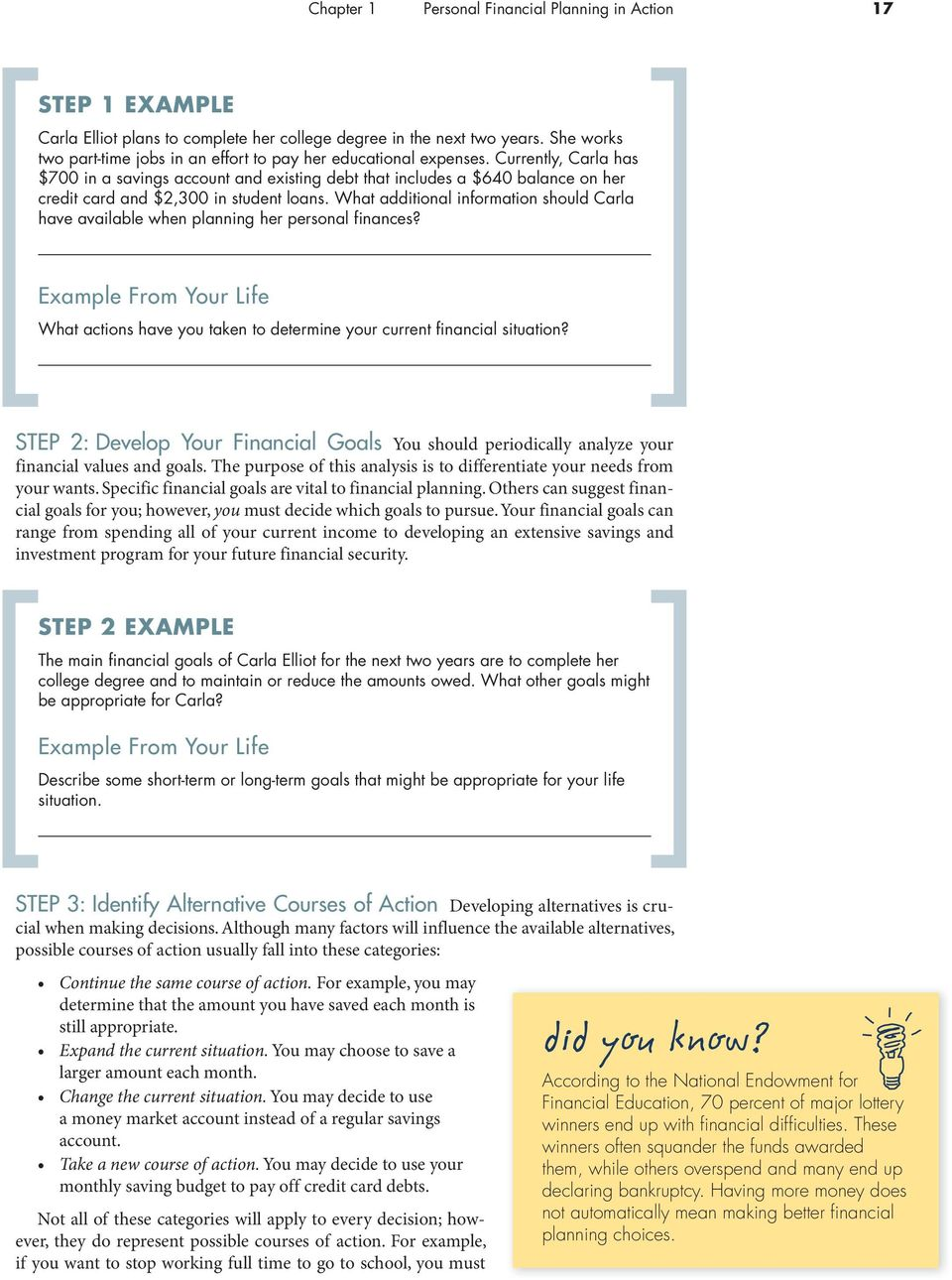 Personal Financial Planning in Action - PDF