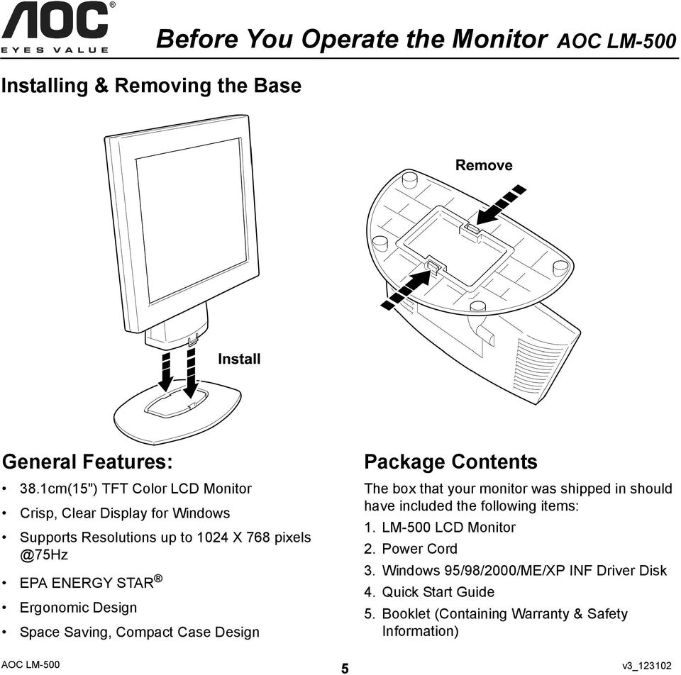 AOC LM-500 DRIVER FOR WINDOWS 8