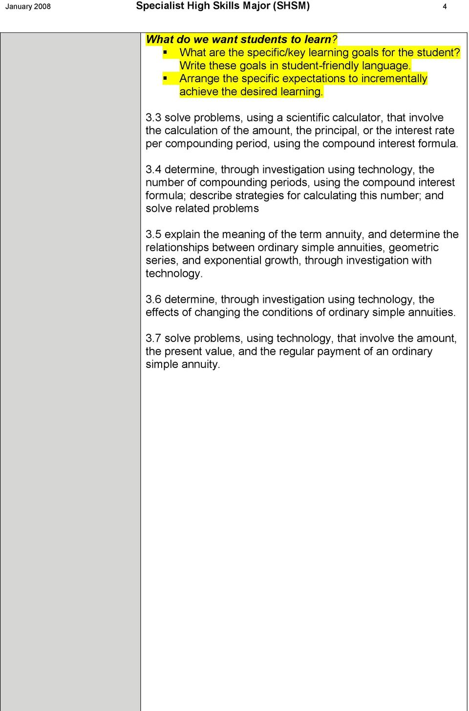 Contextualized Learning Activities (CLAs) - PDF