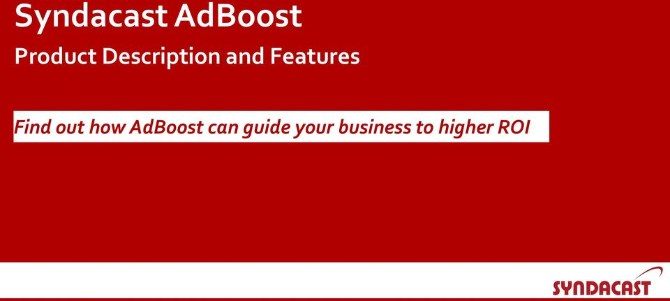 Find out how AdBoost can