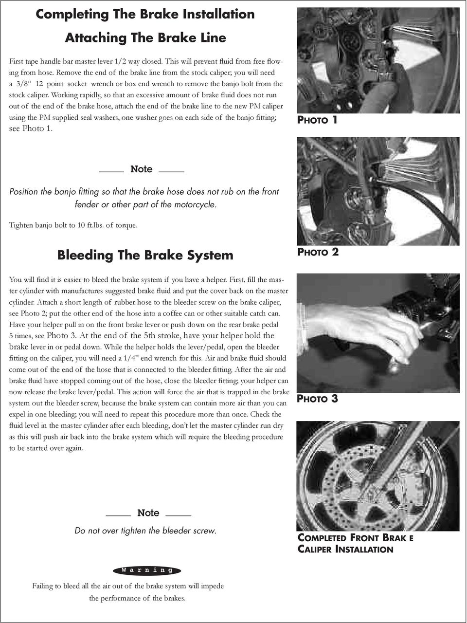 4 Piston Brake Calipers And Rotors Pdf Caption Diagram Of The Basic Front Disc Setup Arotor B Working Rapidly So That An Excessive Amount Fluid Does Not Run Out