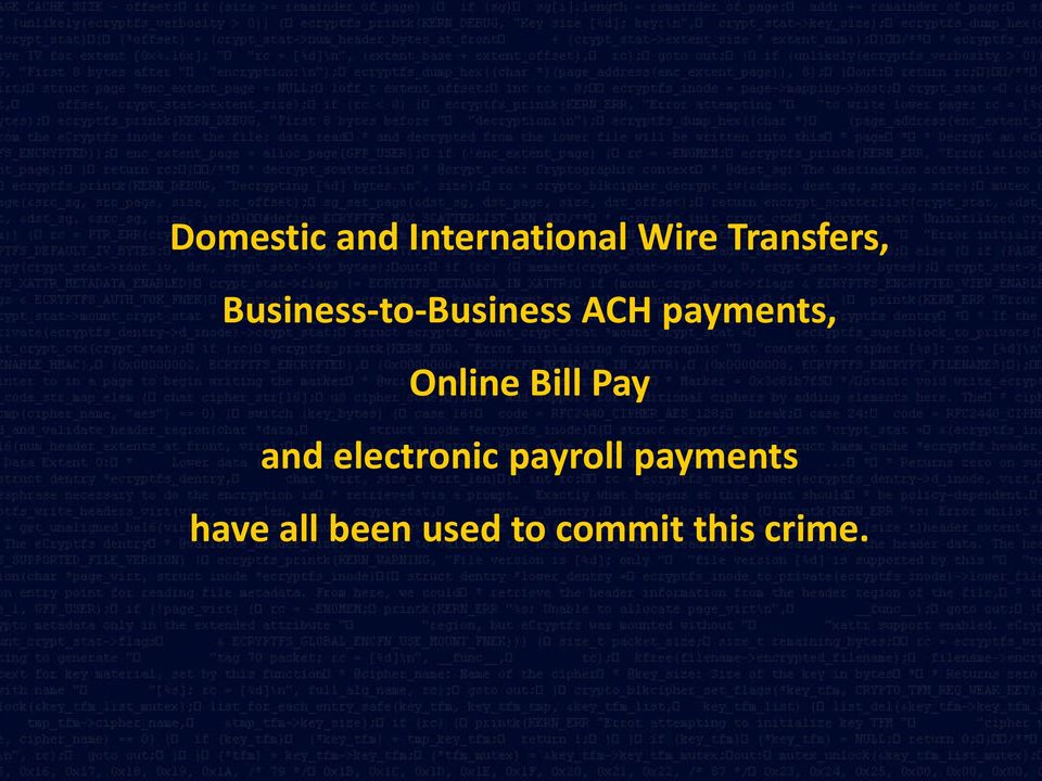 payments, Online Bill Pay and electronic