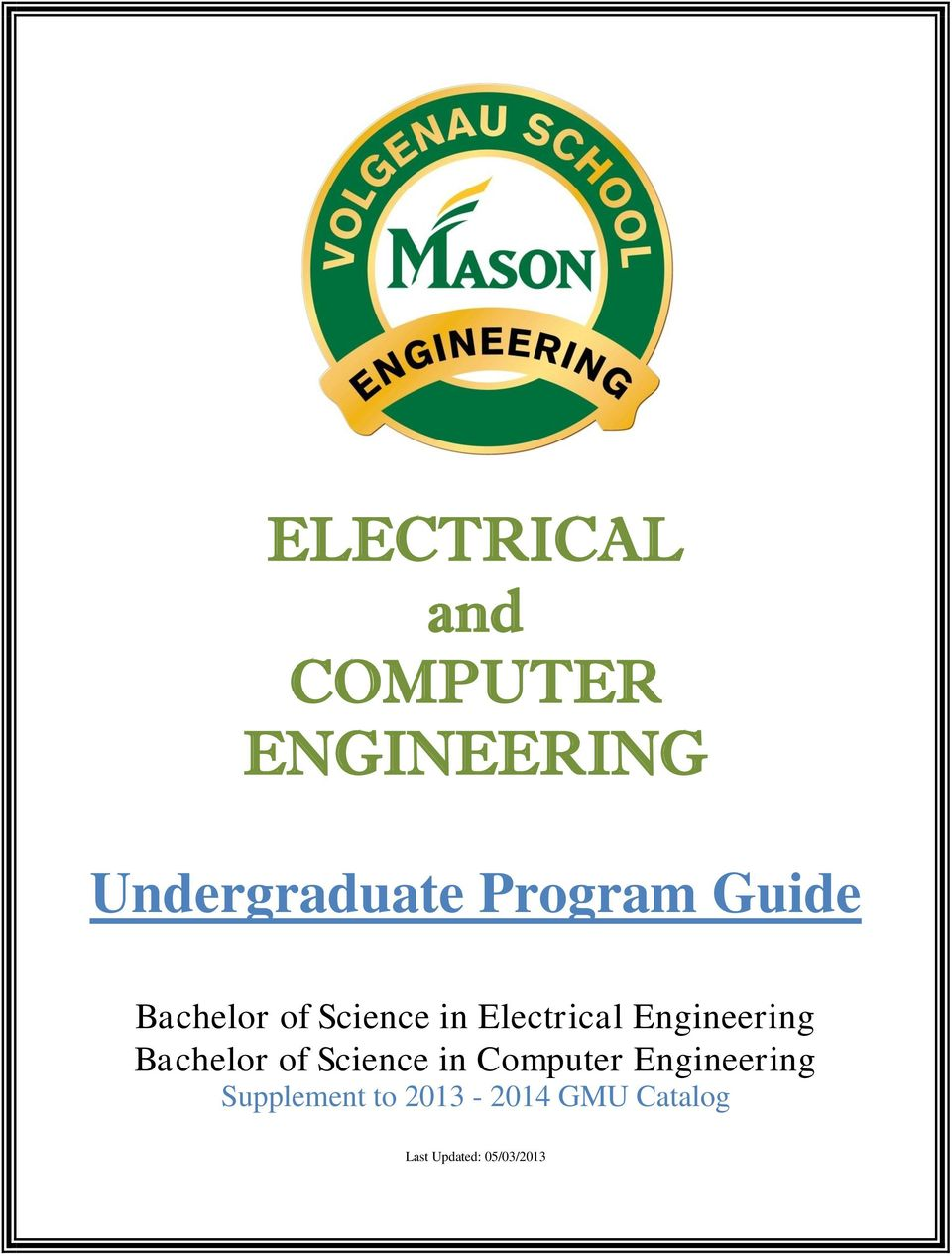 Engineering Bachelor of Science in Computer