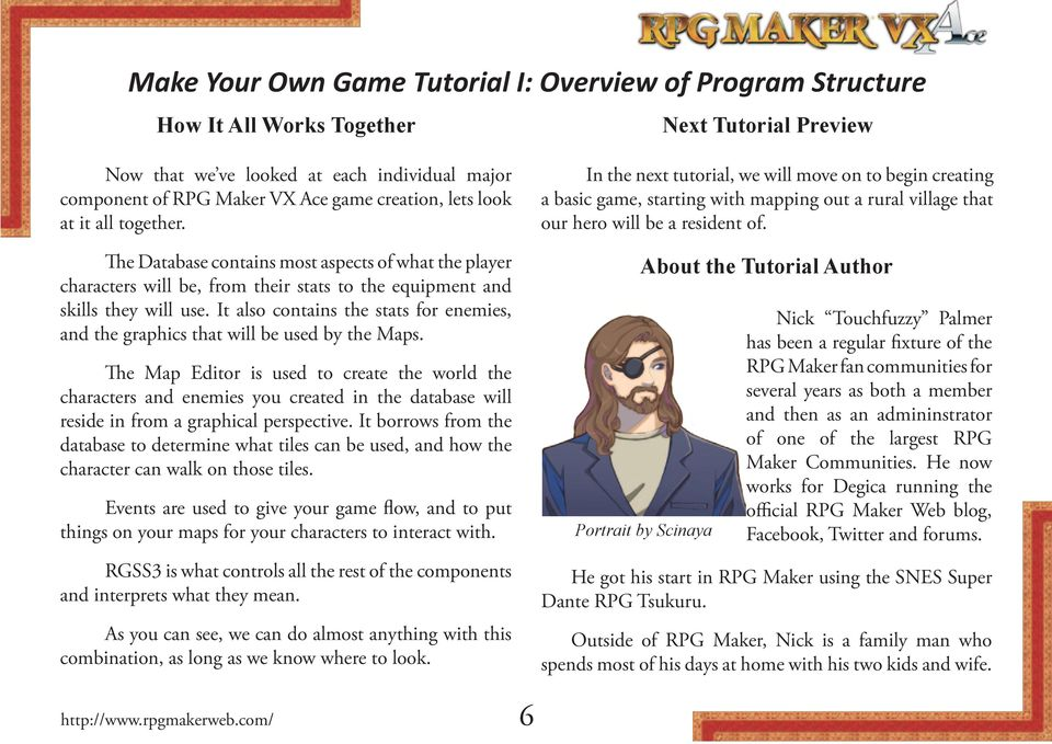 Make Your Own Game Tutorial I: Overview of Program Structure