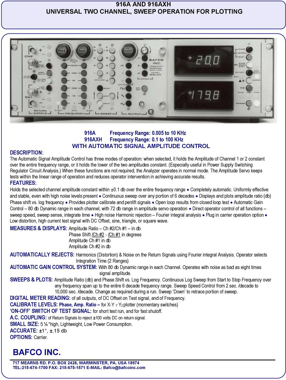 Frequency Response Analyzers Pdf Supply Constant Current Charger Circuit Switchingregulatorcircuit Over The Entire Range Or It Holds Lower Of Two Amplitudes