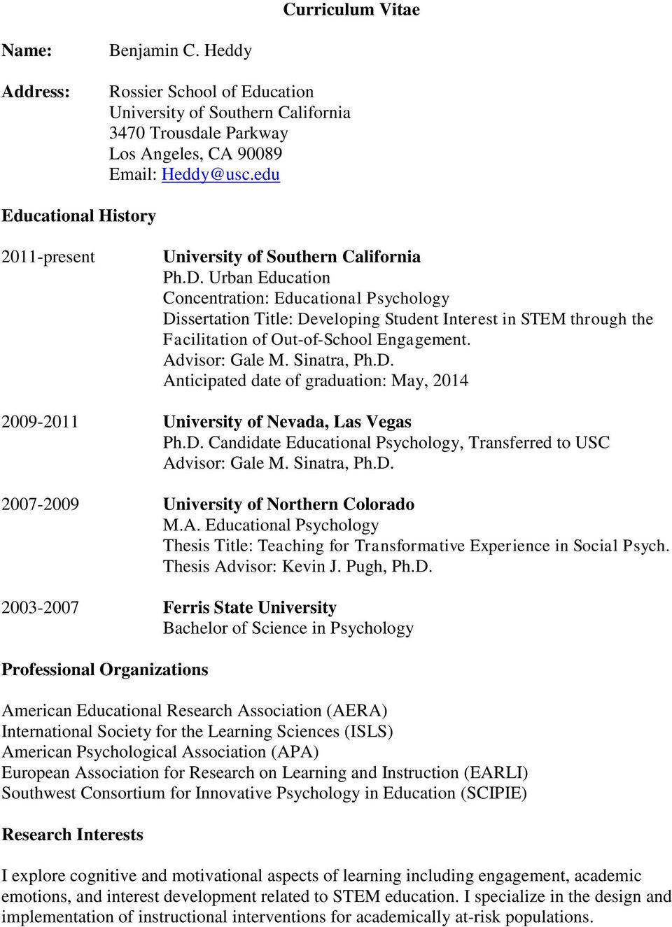 10 Great Suggestions for Educational Psychology Dissertation Topics