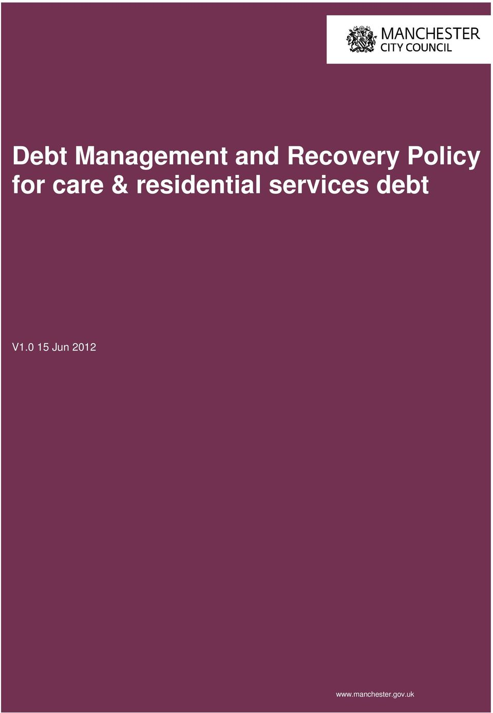 residential services debt