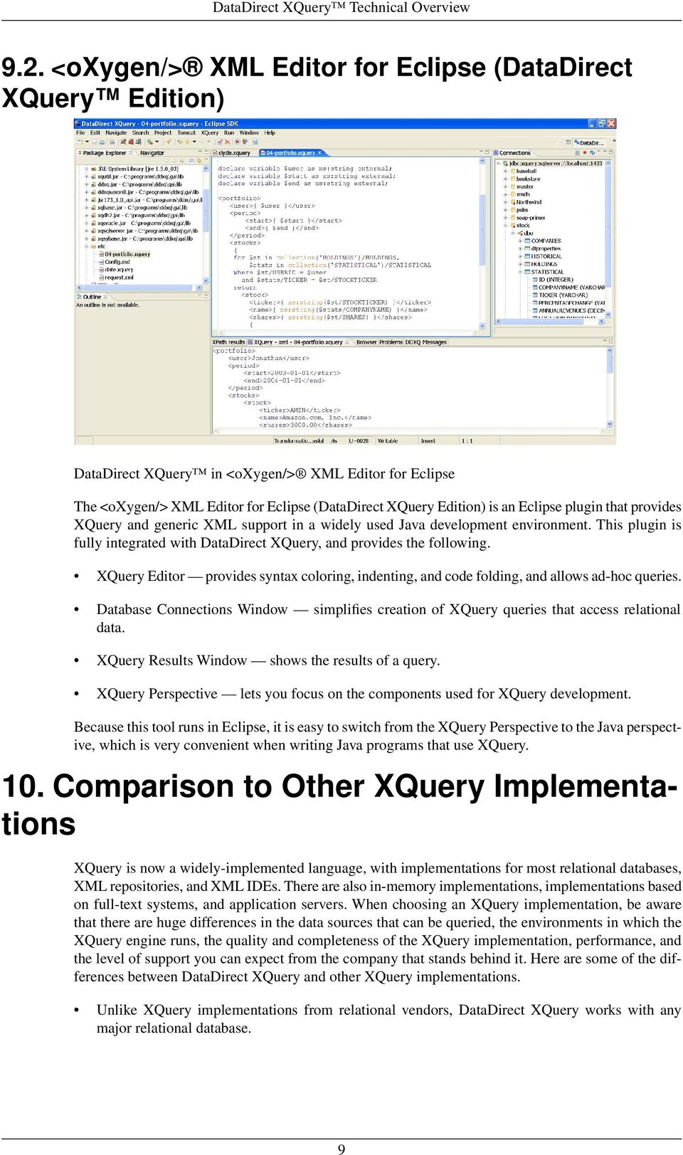 DataDirect XQuery Technical Overview - PDF