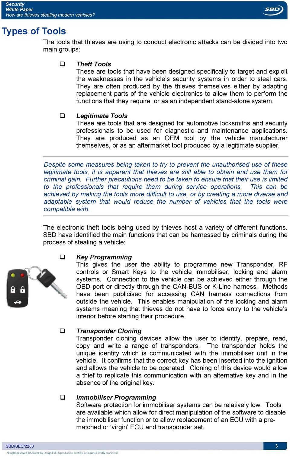 White Paper How are thieves stealing modern vehicles? - PDF