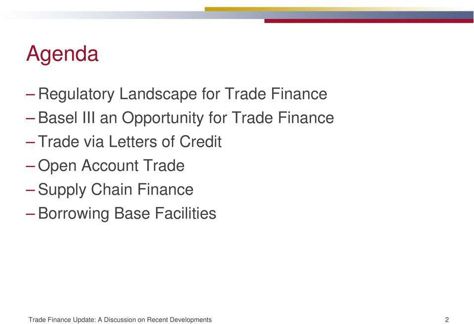 Open Account Trade Supply Chain Finance Borrowing Base