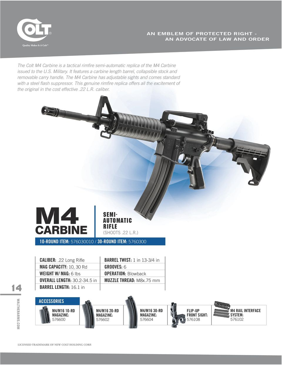 Legendary For A Reason 2015 Tactical Rimfire Catalog Pdf Tippmann 98 Custom Model E Bolt Manual This Genuine Replica Offers All The Excitement Of Original In Cost Effective