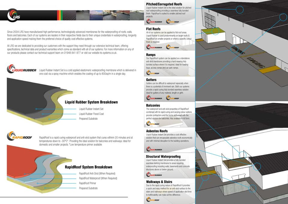 Seamless Waterproofing  Systems - PDF