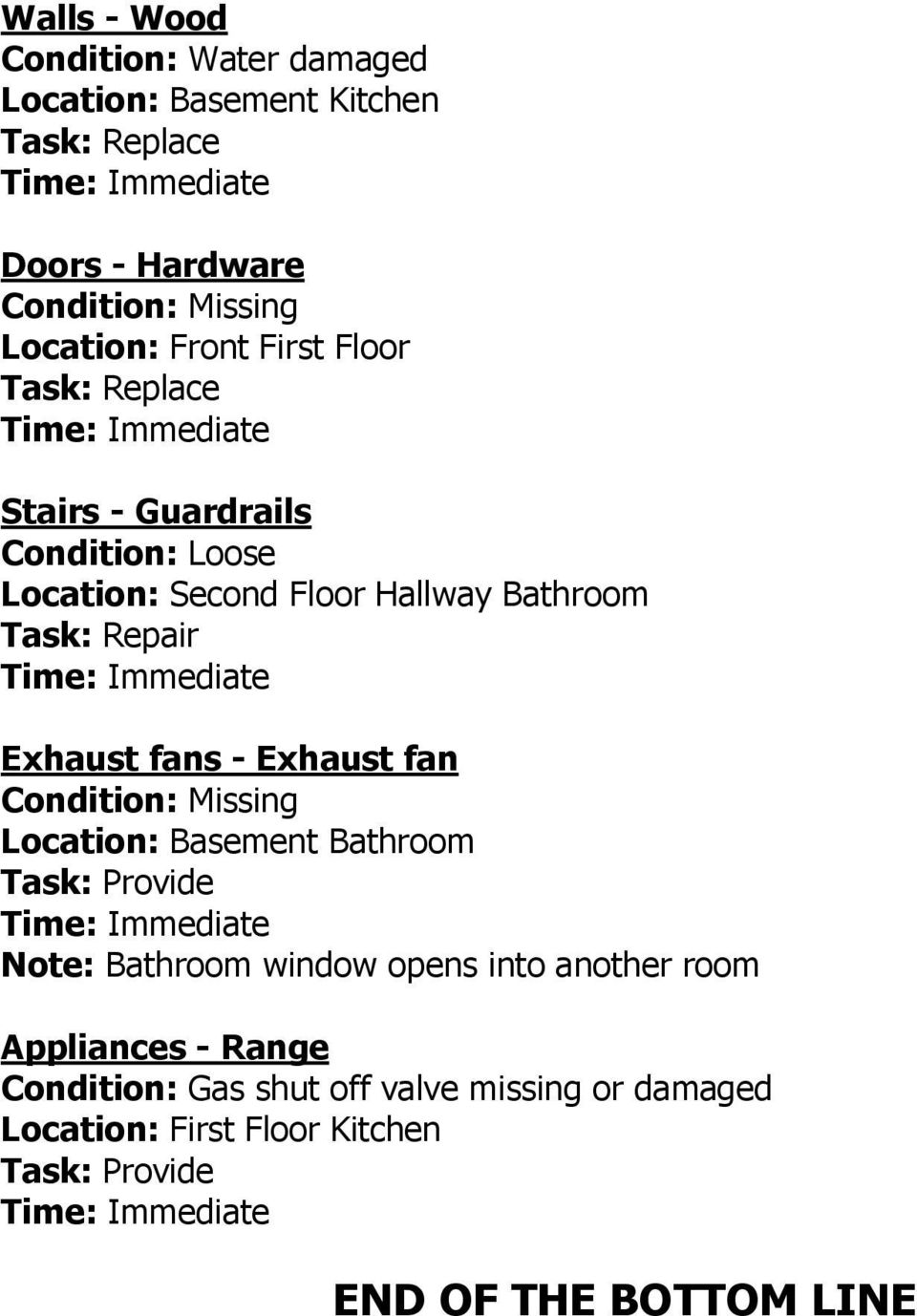 Hallway Bathroom Exhaust fans - Exhaust fan Note: Bathroom window opens into another