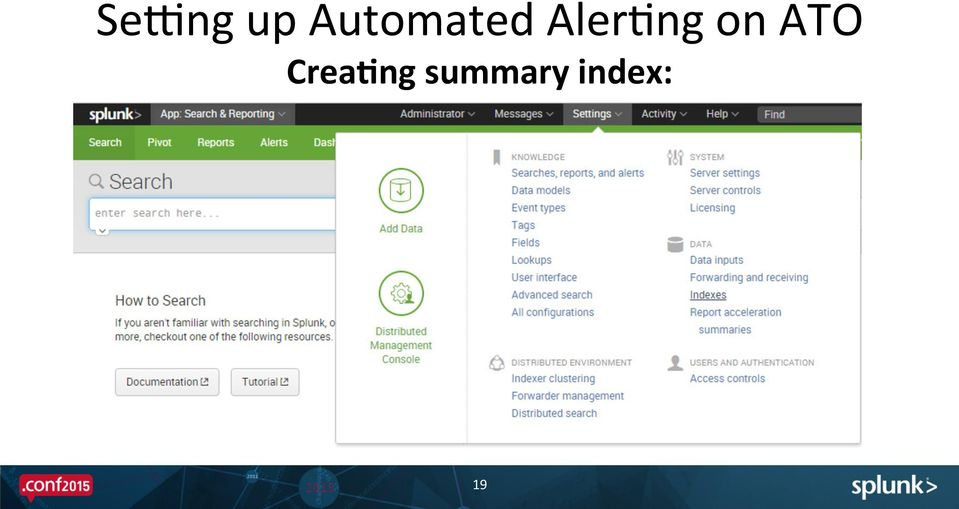 DetecHng Bank Accounts Takeover Cyber ALacks with Splunk > - PDF