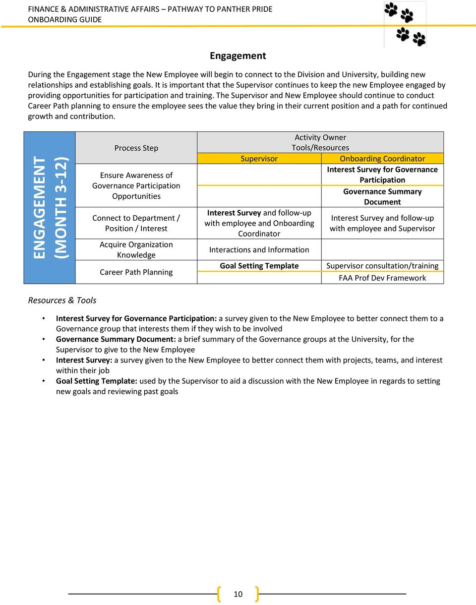 UWM FAA Onboarding Guide  Pathway to Panther Pride - PDF
